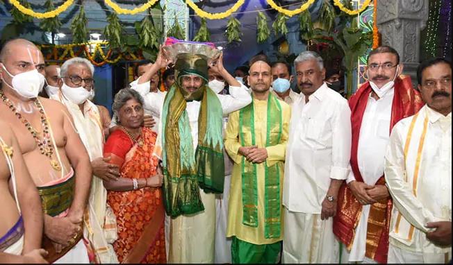 Jagan Mohan Reddy's Visit to Tirupati